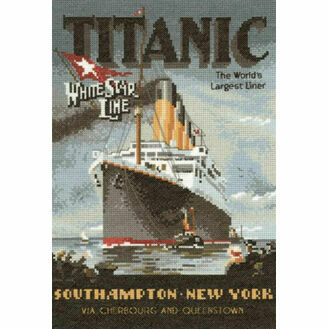 Titanic Cross Stitch Chart