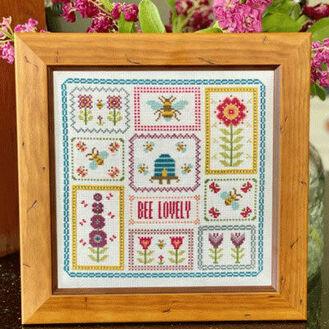 Bee Lovely Cross Stitch Kit