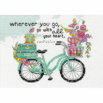 Wherever You Go Cross Stitch Kit