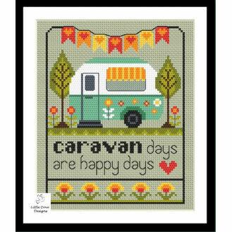 Caravan Days Cross Stitch Kit