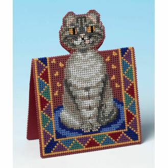 Peeping Tom 3D Cross Stitch Card Kit
