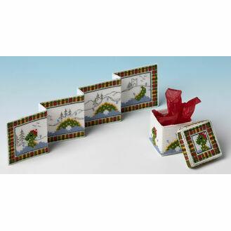Nessie Gift Set 3D Cross Stitch Card & Gift Box Kit