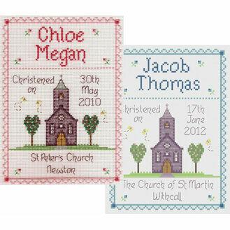 Christening By Nia Cross Stitch Kit