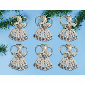 Angel Ornaments Beading Kit