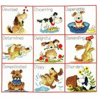 It\'s A Dog\'s Life Cross Stitch Kit