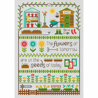 The Flowers Of Tomorrow Cross Stitch Kit