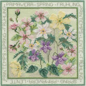 Four Seasons Spring Cross Stitch Kit