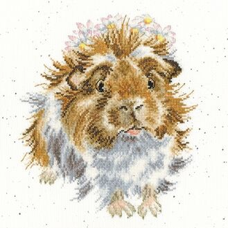 Grinny Pig Cross Stitch Kit