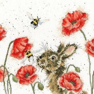 Let It Bee (Hannah Dale) Cross Stitch Kit