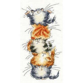 Top Cat Cross Stitch Kit