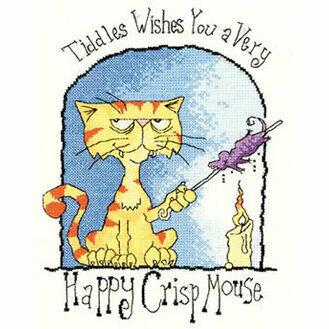 Happy Crisp Mouse Cross Stitch Kit