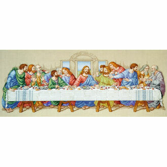 The Last Supper Cross Stitch Kit