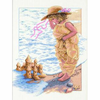 Sandcastle Dreams Cross Stitch Kit