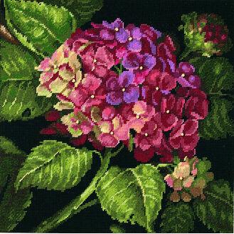 Hydrangea Bloom Needlepoint Kit