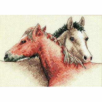 Horse Pals Cross Stitch Kit