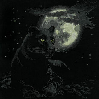 Full Moon Cross Stitch Kit