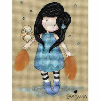Gorjuss The Owl Cross Stitch Kit