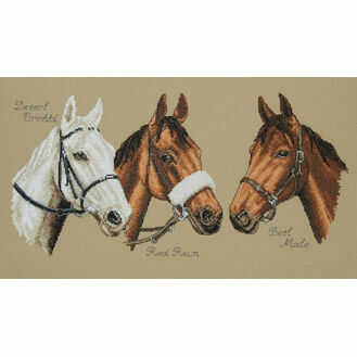 Three Champions Cross Stitch Kit