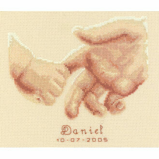 Tenderness Birth Record Cross Stitch Kit