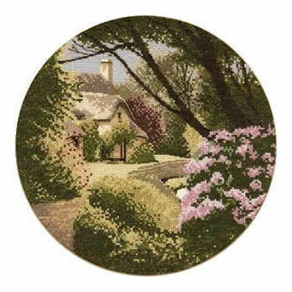 Secret Garden Cross Stitch Chart Kit