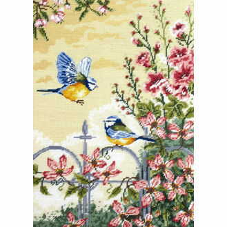 Floral Railings Tapestry Kit
