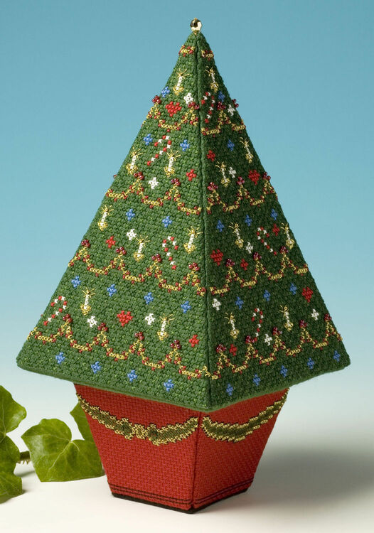 Tall Christmas Tree 3D Cross Stitch Kit only £23.00