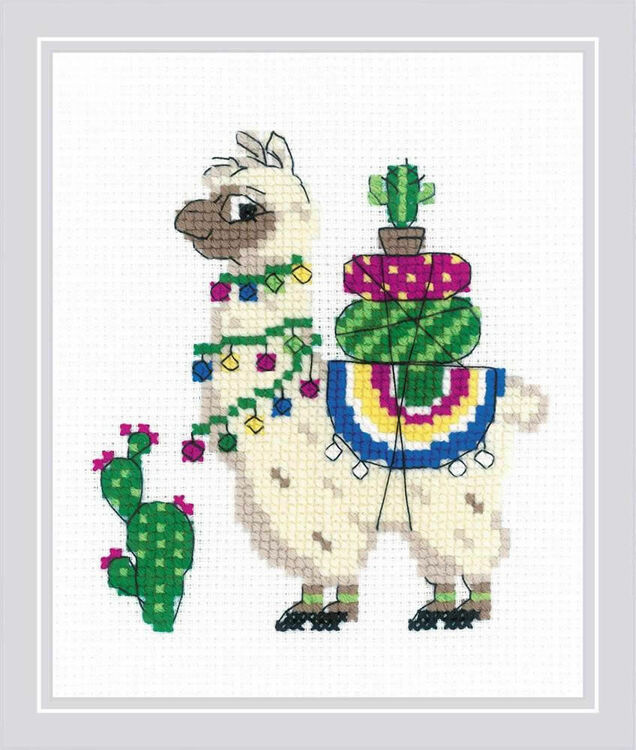 No Cause for A-Llama Counted cross stitch Kit by Bothy Threads llama kit