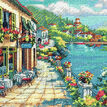 Overlook Cafe Cross Stitch Kit additional 1