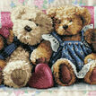 Row of Love Cross Stitch Kit additional 1