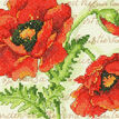 Poppy Pair Cross Stitch Kit additional 1