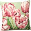 Tulip Right Cushion Panel Cross Stitch Kit additional 1