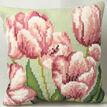 Tulip Right Cushion Panel Cross Stitch Kit additional 2