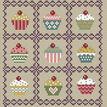 Fairy Cakes Cross Stitch Kit additional 1