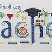 Thank You Teacher Cross Stitch Kit additional 1