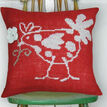 Red Hen Premium Half Cross Stitch Cushion Kit additional 1