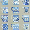 Blue Cups Sampler Half Cross Stitch Kit additional 1