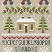 Noel Noel Alphabet Cross Stitch Kit additional 2