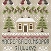 Noel Noel Alphabet Cross Stitch Kit additional 1