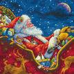 Santa\'s Midnight Ride Cross Stitch Kit additional 1