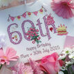 60th Birthday Cross Stitch Kit additional 1