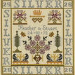Silver Anniversary Sampler Cross Stitch Kit additional 1