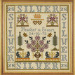 Silver Anniversary Sampler Cross Stitch Kit additional 2
