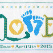 Love Baby Boy StitchKits Cross Stitch Kit additional 1