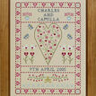 Swag & Heart Wedding Sampler Cross Stitch Kit additional 2