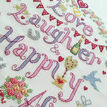 Love, Laughter, Happily Ever After Cross Stitch Kit additional 3