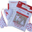 Christmas Trio Felt Decoration Craft Kit additional 2