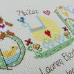 Baby Neutral Birth Sampler Cross Stitch Kit additional 3