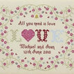 All You Need Is Love Cross Stitch Kit additional 2