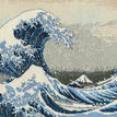 The Great Wave Cross Stitch Kit additional 1