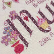 Mum Birthday Cross Stitch Kit additional 2